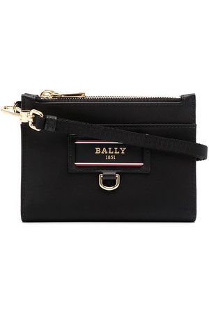 Bally Foldover leather wallet