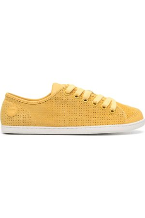 Camper Uno perforated low-top sneakers