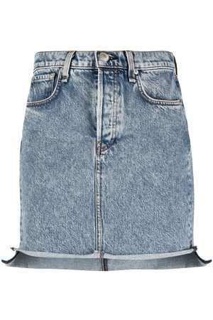 RAG&BONE Fitted denim skirts