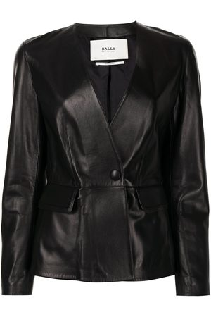 Bally Tailored leather jacket