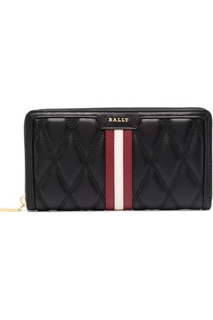 Bally Quilted leather wallet
