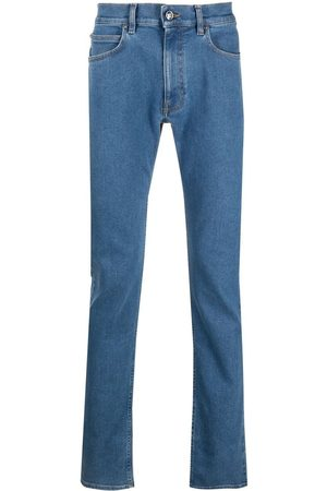 VERSACE Straight-leg light-wash jeans