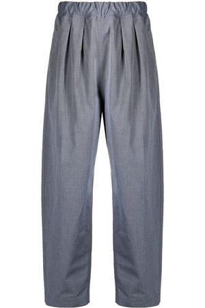 SOFIE D'HOORE Elasticated-waist trousers - Grey
