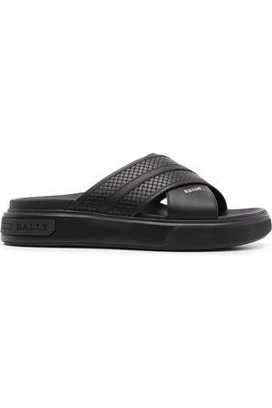 Bally Cross strap sandals