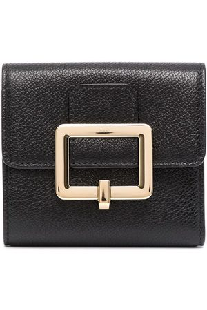 Bally Buckle-plaque leather wallet