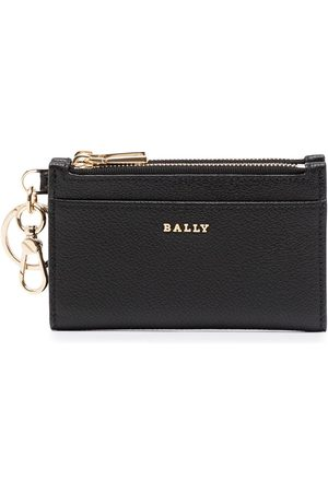 Bally Larin pebbled leather wallet