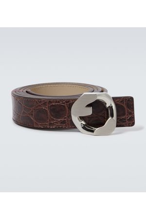 Givenchy Men Belts - G Chain buckle belt