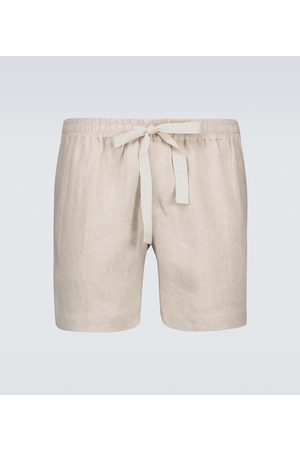 COMMAS Relaxed-fit linen shorts