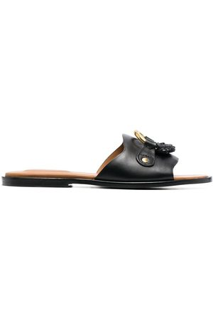 See by Chloé Slip-on leather sandals