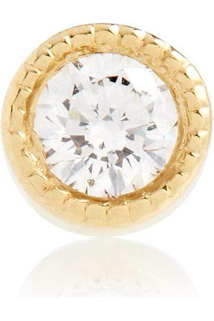 Maria Tash 18kt and diamond earring