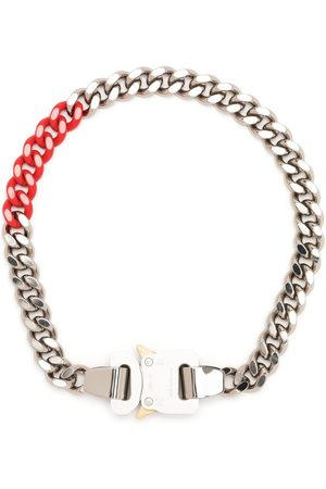 1017 ALYX 9SM Necklaces - Two-tone curb chain buckled necklace