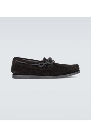 YUKETEN Men Loafers - Canoe moccasin shoes