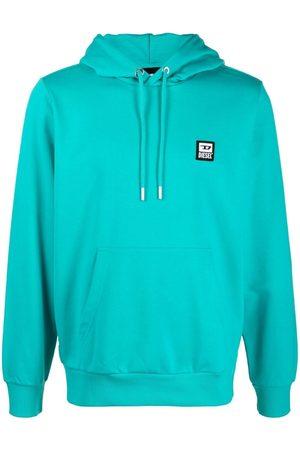 Diesel Logo patch cotton-blend hoodie