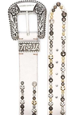 Golden Goose Lace stud-embellished belt