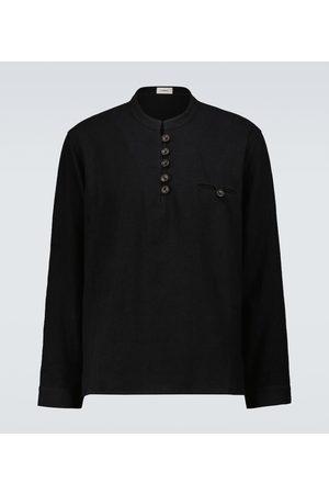 COMMAS Men Shirts - Artist linen and cotton shirt