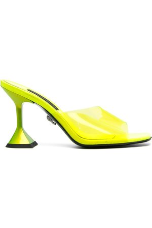 Philipp Plein Square-toe heeled sandals