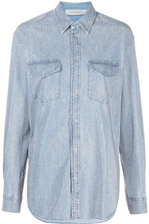 Golden Goose Women Denim - Studded denim overshirt