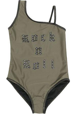 Zadig & Voltaire Girls Swimsuits - Slogan-print swimsuit
