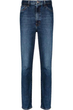 J Brand Women High Waisted - Runaway high-rise slim straight-leg jeans