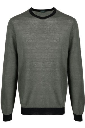 ZANONE Round neck knitted jumper