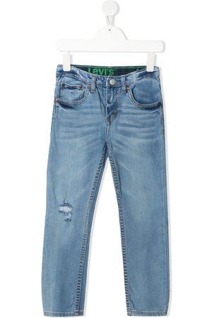 Levi's Straight-leg cotton jeans