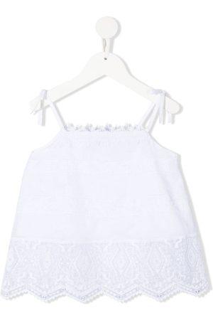ERMANNO SCERVINO JUNIOR Embroidered camisole top