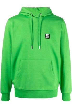 Diesel Men Hoodies - S-Girk-Hood-K21 logo patch hoodie