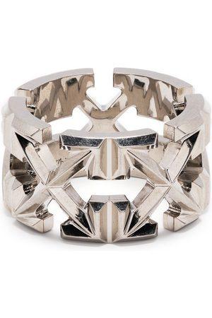 OFF-WHITE Men Rings - Arrows-motif ring - Metallic