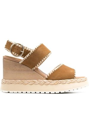 Paloma Barceló Platform buckle-fastening sandals