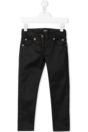 Balmain Boys Jeans - Logo-print jeans