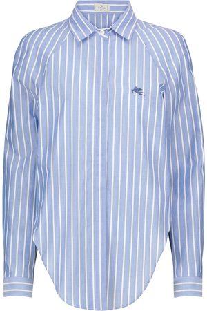Etro Women Long sleeves - Striped cotton shirt
