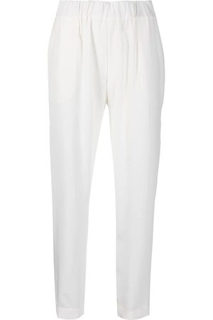 P.a.r.o.s.h. Cropped elasticated trousers