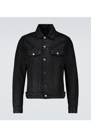 AMIRI Men Denim Jackets - Denim trucker jacket