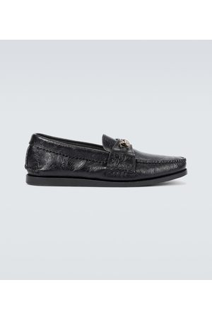 YUKETEN Men Loafers - Bit leather loafers
