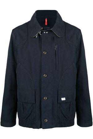 FAY Panelled shirt jacket