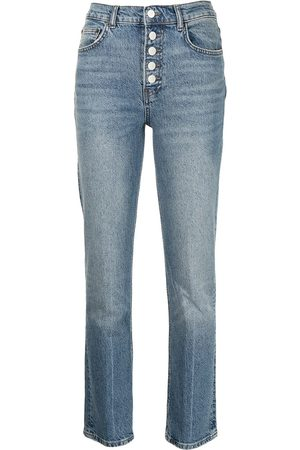 Reformation Women Straight - Mid-rise straight-leg jeans