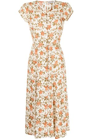 Reformation Women Printed Dresses - Fauna floral-print dress - Multicolour