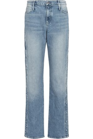 RTA Women High Waisted - Michael high-rise straight jeans