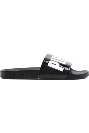 Philipp Plein Men Sandals - Logo-print sandals