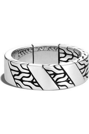 John Hardy Men Rings - Classic Chain 7mm band ring