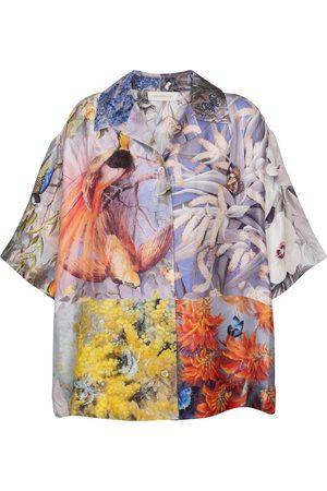 ZIMMERMANN Botanica silk twill shirt
