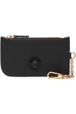 Versace Women Wallets - Medusa Head leather wallet