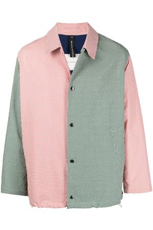 MACKINTOSH Men Shirts - Contrast panel shirt jacket
