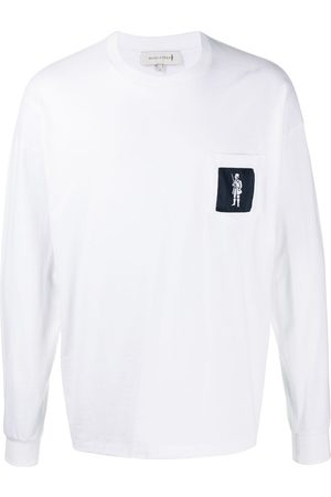 MACKINTOSH Logo-patch long-sleeve T-shirt
