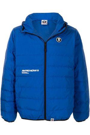 AAPE BY A BATHING APE Hooded puffer jacket