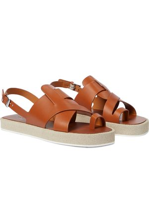 Robert Clergerie Women Sandals - Greta leather platform sandals