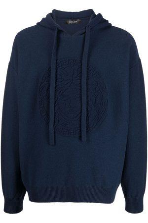 VERSACE Medusa head knitted hoodie