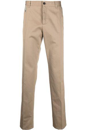 VERSACE Men Chinos - Gabardine chino trousers - Neutrals