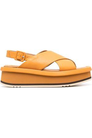 Paloma Barceló Women Sandals - Crossover-strap platform sandals