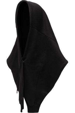 Balenciaga Hats - Logo-embroidered hood
